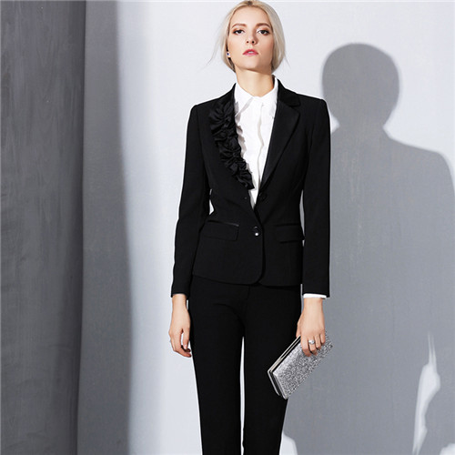 Online Get Cheap Black Blazer and Pants Women Plus Size ...