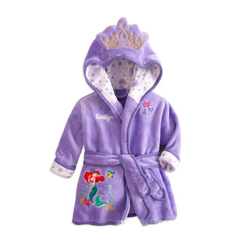 Здесь можно купить  Winter warm cartoon Flannel kids pajamas Cotton cartoon fleece sleepwear long sleeve nightgown for children hot sale pjs BP019  Детские товары
