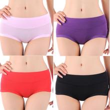 Lady Women's Briefs Bamboo Fiber Underpants Non-trace Underwear Breathable underwear Panty (China (Mainland))