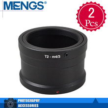 Buy MENGS 2Pcs per pack T2-M4/3 Lens Mount Adapter Ring Alloy Aluminum Material T2 T Lens E-P1 Camera Body, 14150002401 for $8.99 in AliExpress store