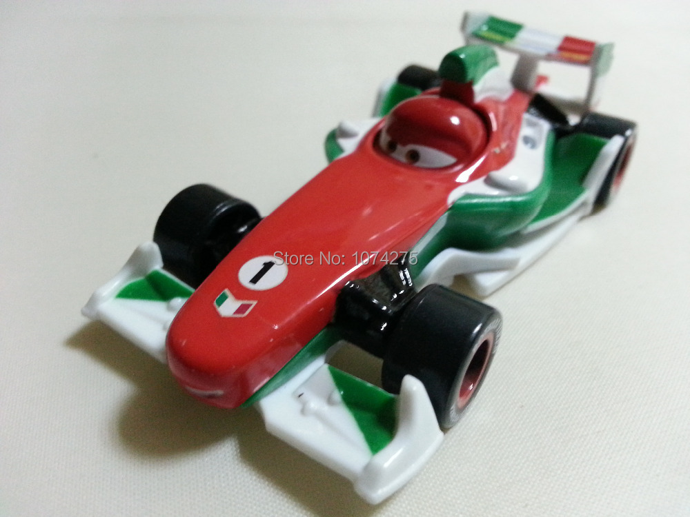 Pixar Cars Diecast Francesco Bernoulli Metal Toy Car 1:55 Loose Brand New In Stock & Free Shipping(China (Mainland))