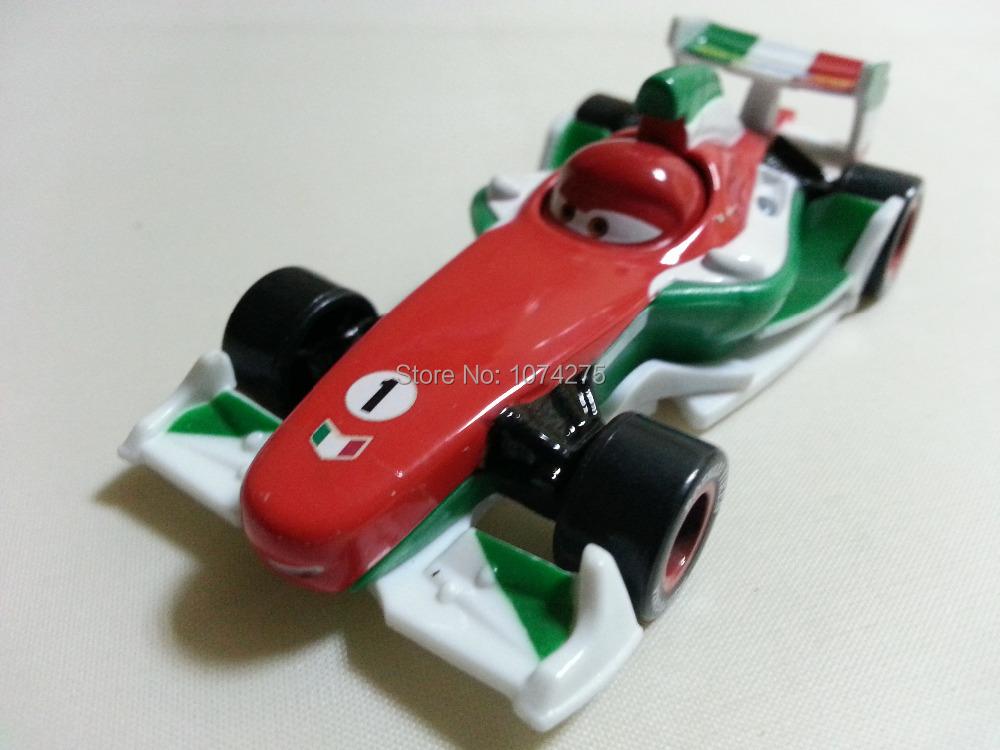 Pixar Cars Diecast Francesco Bernoulli Metal Toy Car 1:55 Loose Brand New In Stock & Free Shipping(China (Mainland))