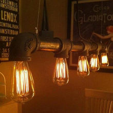 E27 Vintage Retro Edison Bulbs Spiral Light Handmade Glass Industrial Style T30-225 G80 Tungsten Bulb Pendant Lamps Lighting(China (Mainland))