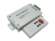 Buy Wireless RF SD card SPI led pixel controller;DC12~24V input; output: one SPI signal;max 1024pixels;LPD6803/WS2801/TM1803 etc for $35.31 in AliExpress store