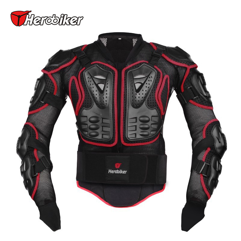 HEROBIKER Motorcycle Riding Armor Body Protector Motocross Off Road Racing Jacket Guard Extreme Sport font b