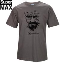 Buy Walter White Cook Tops COTTON o neck heisenberg men tshirt short sleeve print casual breaking bad print T shirt men 2017 for $6.98 in AliExpress store
