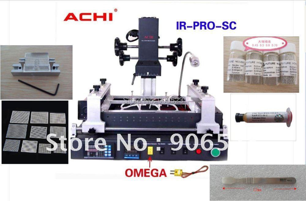 New Offical Agent ACHI IR PRO SC V4 Welding BGA Rework Station with 4 in 1 reballing kit(China (Mainland))