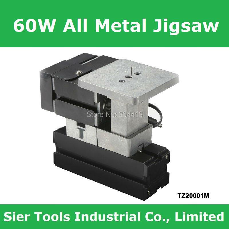 60W,12000rpm Powerful All Meta Jigsaw/TZ20001M big power metal jig saw/DIY all metal wire saw/student instructional lathe(China (Mainland))