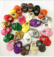 2015 new Bulk sell 120 pairs better quality Soft Leather Baby girls Shoes Moccasins Eco Friendly big order wholesale(China (Mainland))