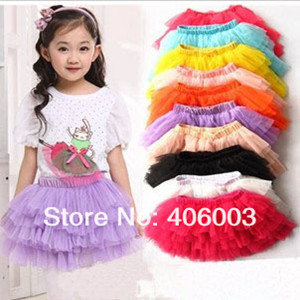 wholesale saia girls fashion summer baby girls rainbow skirt ball gown princess fluffy pettiskirt rainbow tutu skirt<br><br>Aliexpress
