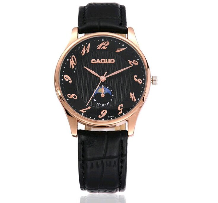 New Men Business watch leather strap watch Fashion Quartz watches Men Sports Military watch casual Wristwatches clock hours<br><br>Aliexpress