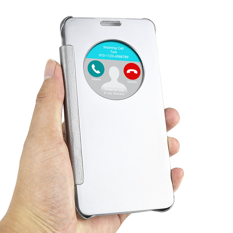 J5 2016 Case Newest Smart Phone Flip Cover For Samsung Galaxy J5 2016 J510F J510 Window View Auto Sleep Wake Function Coque(China (Mainland))