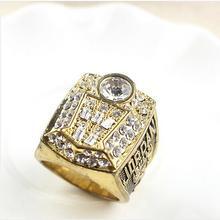 Free Shipping 1998 Bulls Basketball World Championship Ring Finger Ring Custom Ring Sports Replica Jewelry For Men Retail(China (Mainland))