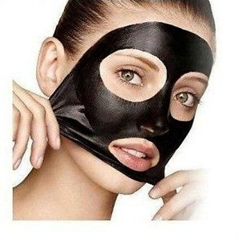 Blackhead Remover Tearing Deep Cleansing Purifying Peel Acne Treatment,Black Mud Mask For The Face(China (Mainland))