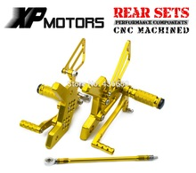 Buy Gold Race CNC Motorcycle Foot Control Kit Adjustable Foot Pegs Rear Sets Kawasaki Z 750 Z750 2004 2005 2006 for $102.36 in AliExpress store