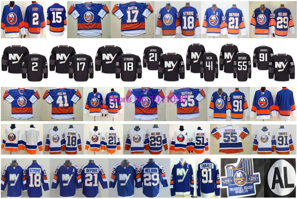 2016 Alternate New York Islanders Jersey 55 Johnny Boychuk 21 Kyle Okposo 2 Nick Leddy 91 John Tavares Matt Martin Jersey<br><br>Aliexpress