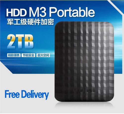 Three years of high quality warranty Samsung M3 2TB external HDD 2000GB portable hard drive disk USB 3.0 100% original new(China (Mainland))