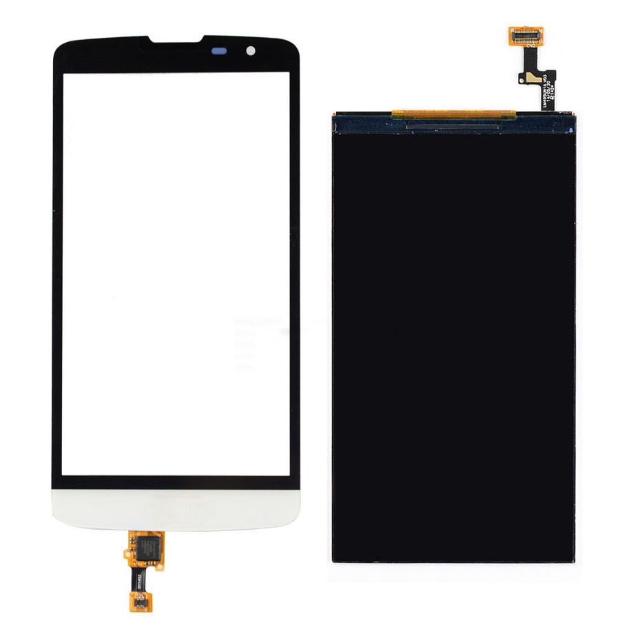 WHITE Touch Screen Digitizer Glass Sensor + LCD Display Panel Screen For LG L Bello D331 D335 D337 Free Shipping(China (Mainland))