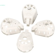 4 pieces RC Drone Replacement Spare Parts 1 Set Plastic Motor Cover for MJX X400 White 66