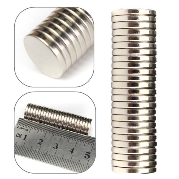 25Pcs N52 Strong Magnets Mini Silver Bulk Super Round Disc Rare Earth Neodymium Magnet 12mm x 2mm(China (Mainland))