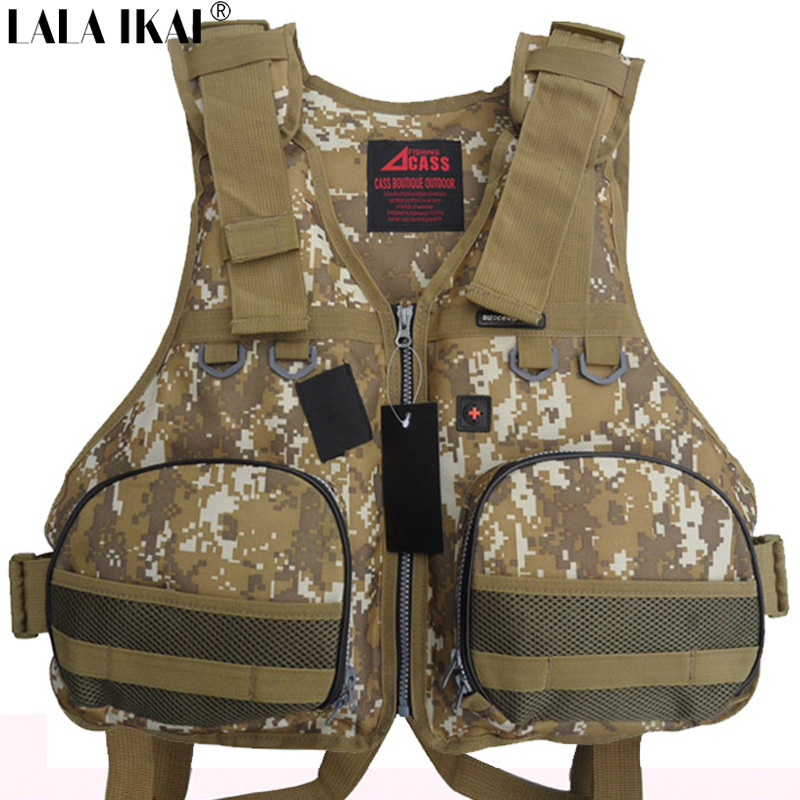 YIQ002-5 Professional Life Vest Life Safety Fishing Clothes Free Shipping Life Jacket Water Sport Survival Suit Outdoor Swimwear(China (Mainland))