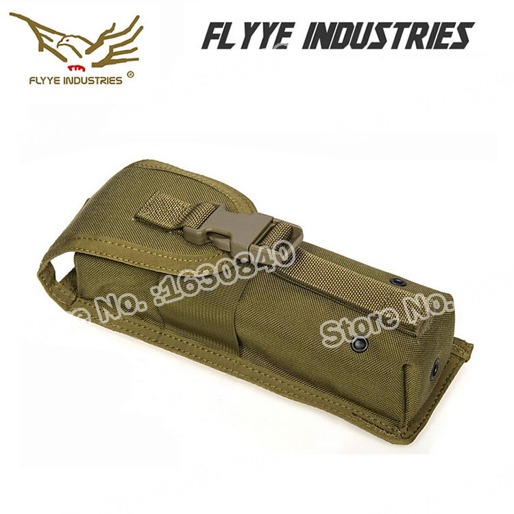 (Front Style) Genuine FLYYE MOLLE MBITR Radio Pouch FLAP for Outdoor Army FY-PH-C032 with 1000D Cordura Waterproof Nylon(China (Mainland))