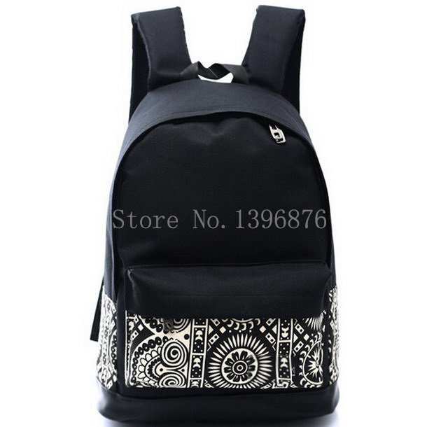 2015 Hot Sales High Quality Printing Backpack Women Men's Canvas Backpacks Boy Girl School Bags For Teenagers Travel Women Bags(China (Mainland))
