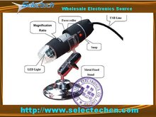 Hot Sales 2 0M 500X USB Microscope With Measure Tools and 8 LED light SE DM