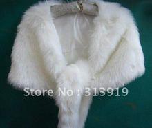 Novia de la boda vestido de piel de invierno envuelve los mantones(China (Mainland))