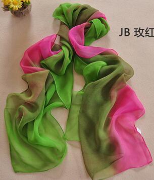 2015 Fashion Brand Scarves hot women winter scarf Rainbow silk scarf chiffon Bohemia Head Scarf 20 color in stock Free Shipping(China (Mainland))