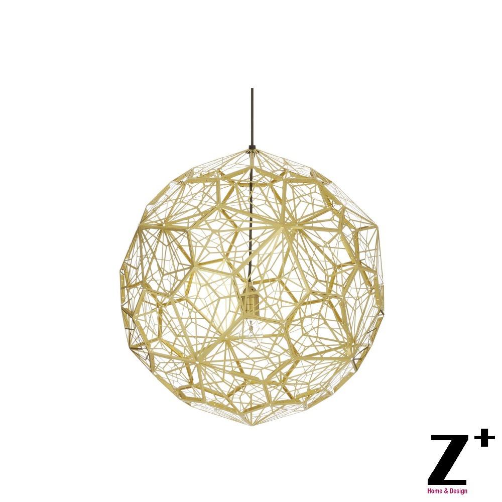 High Quality Replica Tom Dixon New Etch Web  light  Modern Pendant E27 Led D30/40/50/65CM Golden/Slivery/Copper  free shipping<br><br>Aliexpress