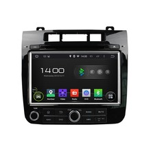HD 1024*600 Quad Core 1.6G CPU 16GB Android 5.1.1 Car DVD Player Radio GPS Navi Stereo for Volkswagen TOUAREG 2010 2011-2015