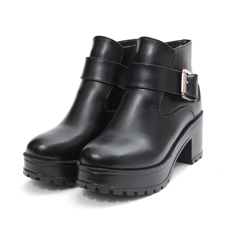 Size 35~39 Cow Leather High Heel Ankle Boots For Women,Hot sell Sexy Female Footwear,New Spring Genuine Leather Women Boots 2014<br><br>Aliexpress