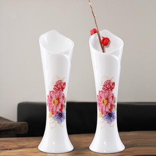 Hot Handmade Ceramic flower basket vase Home Decor Garden Wedding Party Decoration Office Bedroom Free shipping(China (Mainland))