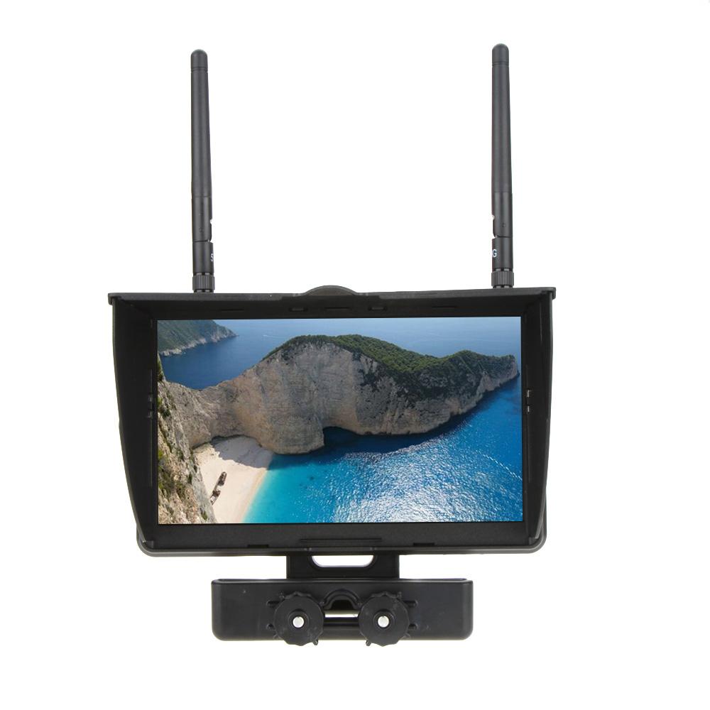 "High Quality Original Boscam Galaxy D2 7""TFT FPV Screen 5.8GHz LCD Monitor Dual Receiver for RC Quadcopter FPV(China (Mainland))"
