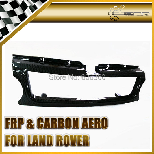 EPR - For Land Rover 06-09 Fit Range Rover Sport Real Carbon Fiber Front Grill Grille(China (Mainland))