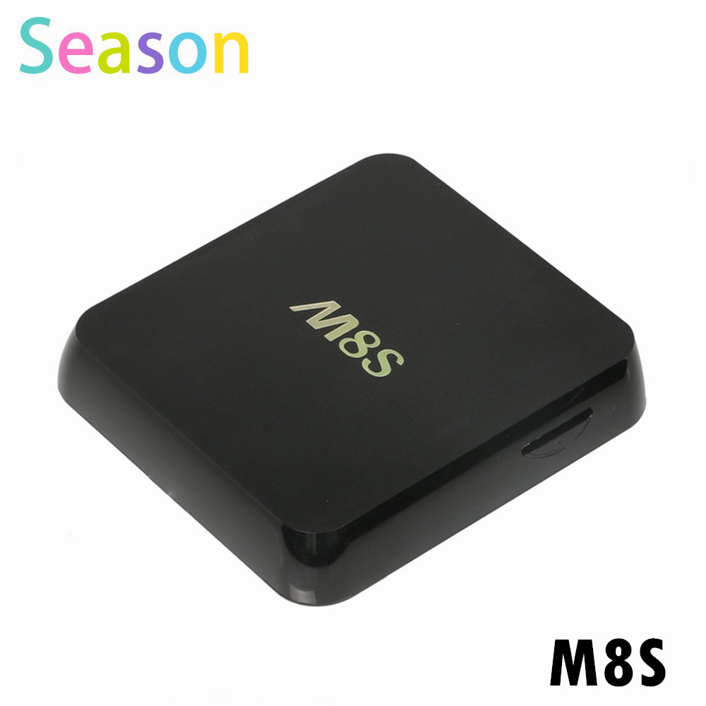 10PCS M8S (2G/8G) Android TV Box DDRIII 2G 8G Quad core WIFI Bluetooth Set Top Box Amlogic S812 Free Shipping<br><br>Aliexpress