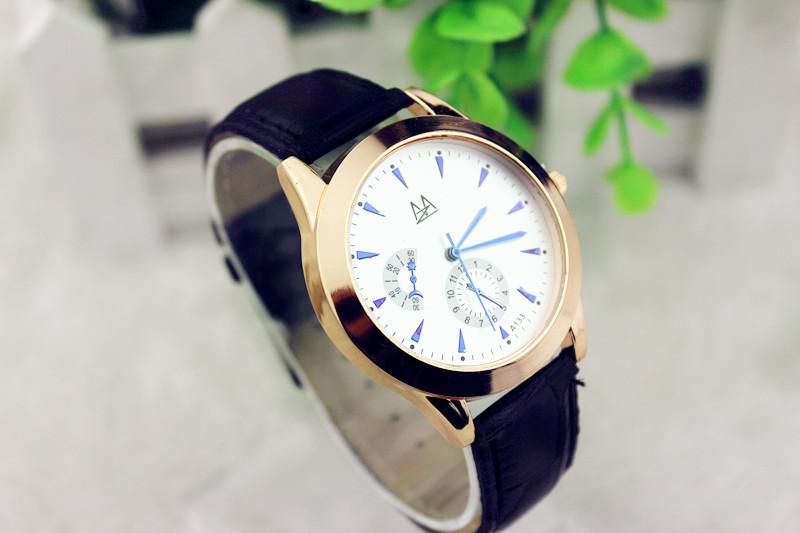 Fashion Sun/Moon/ Arrow Decoration wristwatch Stylish Unisex Quartz Watches Men Sports Watches Women Dress Watch Wholesale(China (Mainland))