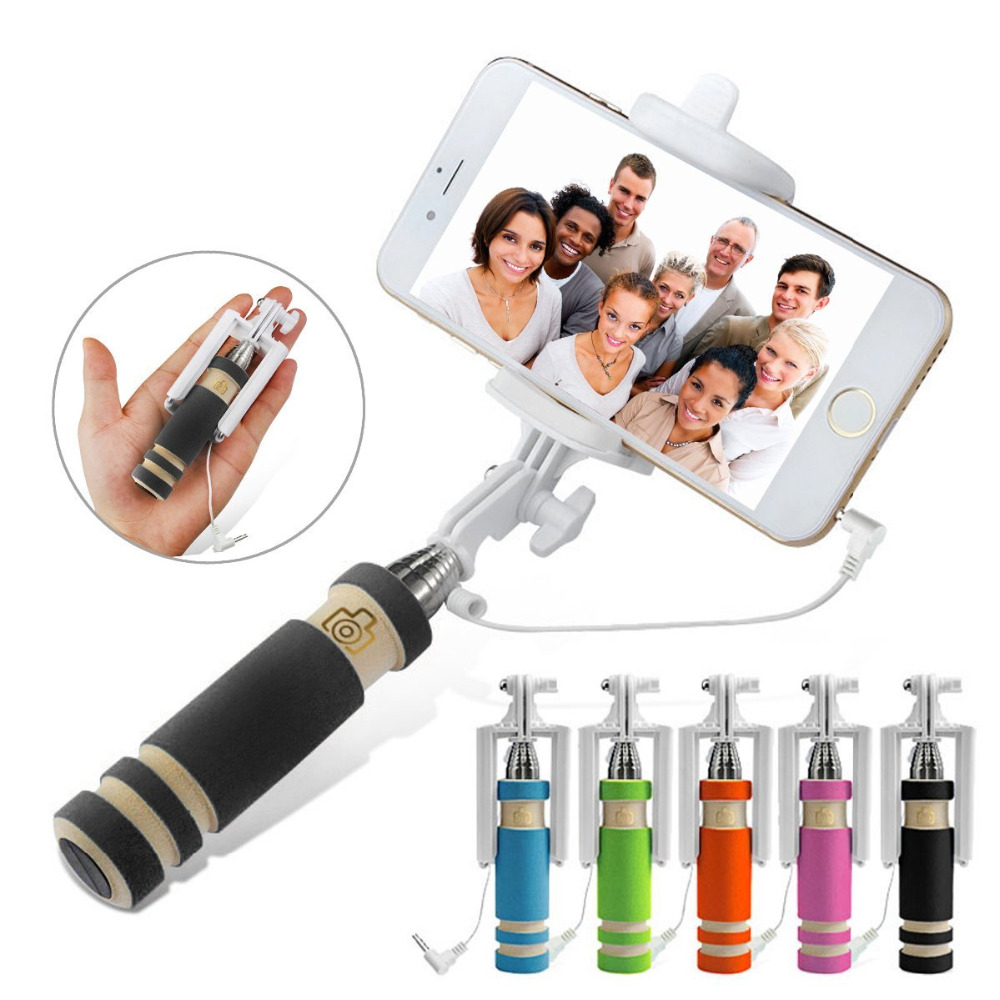handheld camera selfie stick for iphone 6 6s plus 5 5s for samsung galaxy s4 s5 s6 s7 edge. Black Bedroom Furniture Sets. Home Design Ideas