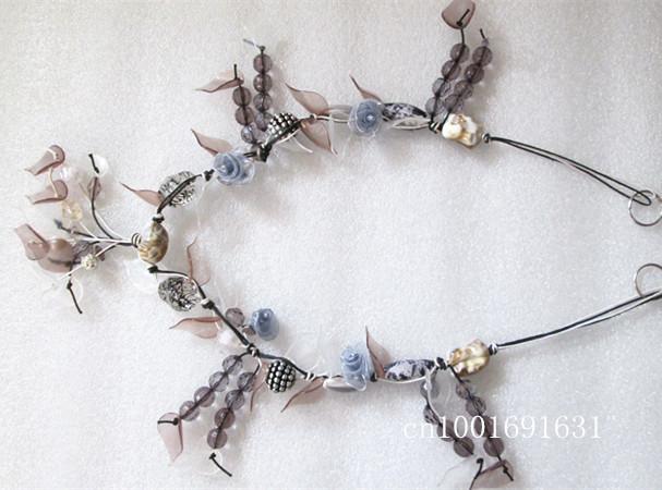 Leaves-shaped-silk-roses-stone-handmade-