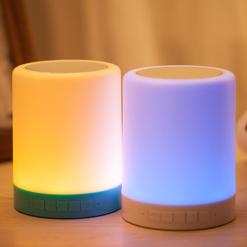 LED lamp Bluetooth speaker (12)