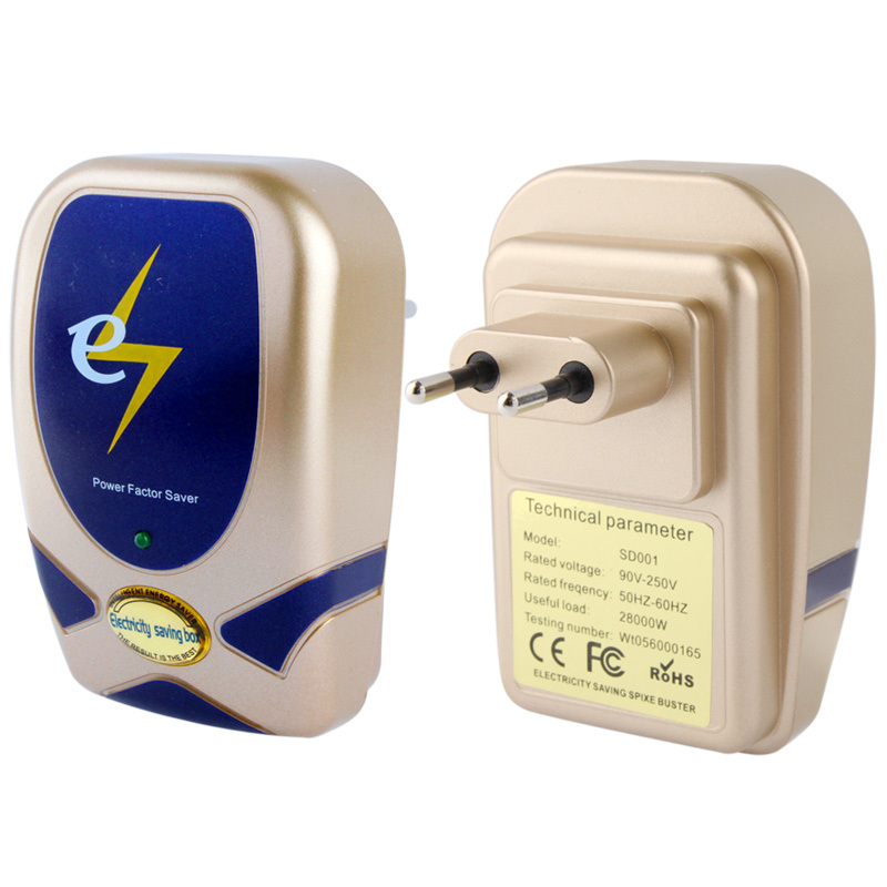 EU Plug 28KW Energy Saving Power Saver Single Phase Electricity Energy, For Home / Air Conditioning(China (Mainland))