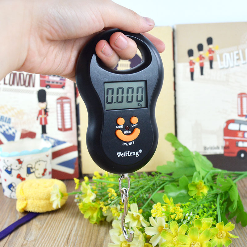 50Kg / 5g BackLight Digital Hanging Scale Fishing Luggage Weight Kg Lb OZ(China (Mainland))