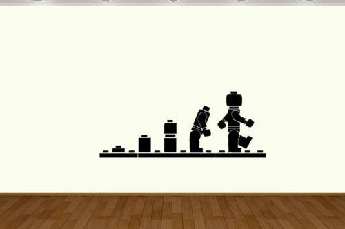Lego Ape Evolution vinyl wall sticker decal wall art Home Decor home Decoration(China (Mainland))