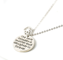 2015 New Fashion Jewelry you are my sunshine Letter Pendant Necklace women Necklace Love Gifts free