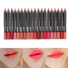 19 Colors Sexy Waterproof Beauty Lip Liner Pencil Lip Pen Brand Makeup Lipliner Maquiagem(China (Mainland))