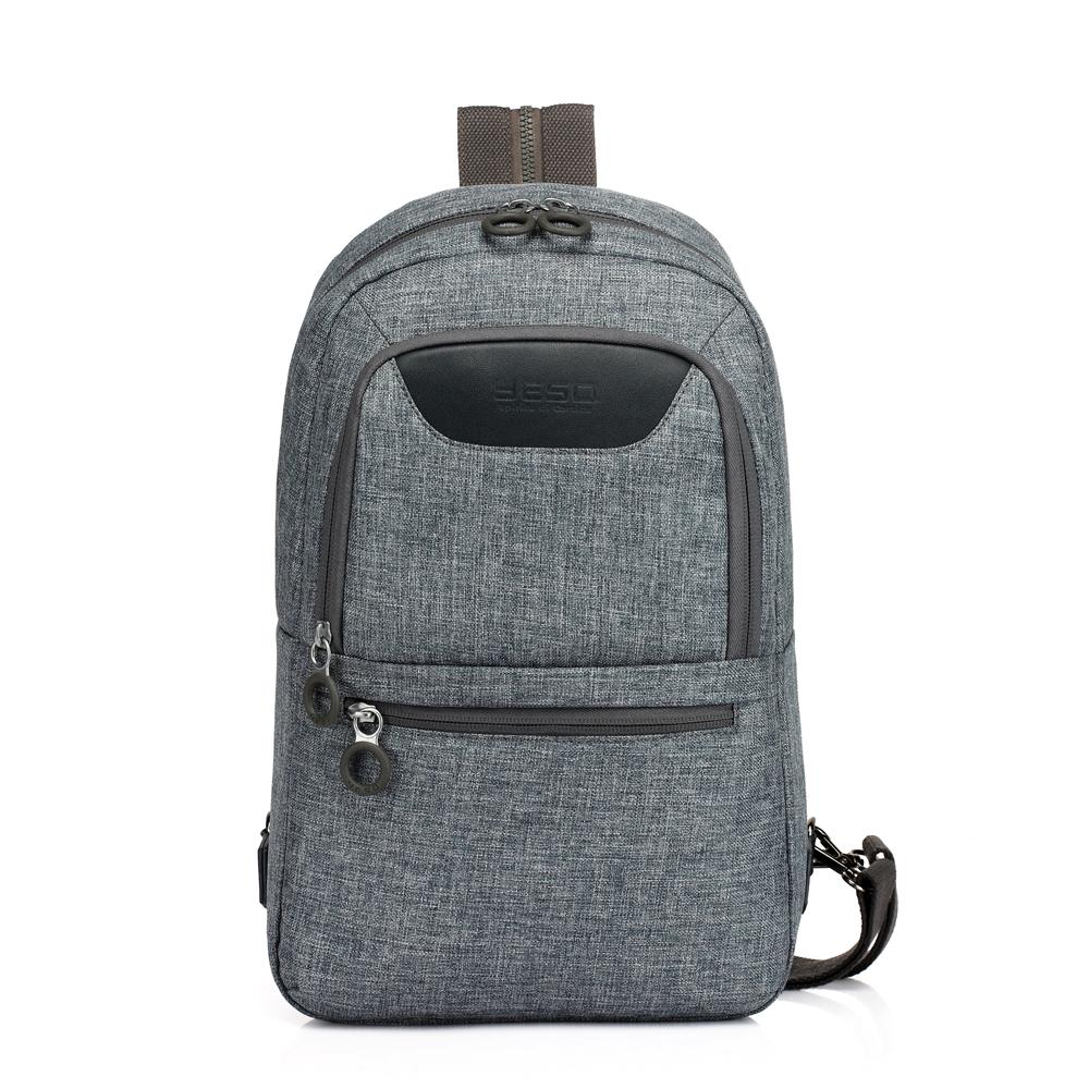 YESO Unisex Chest Sling Pack Outdoor Sport Men Single Shoulder Bags Man Big Large Travel Backpacks Good Quality Canvas Bag <br><br>Aliexpress