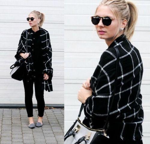 2016 Direct Selling Adult Fashion Bufandas Scarf New Lady Blanket Plaid Cozy Checked font b Tartan