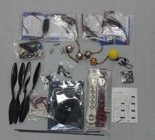 F02113-G 4 Axle Kit RC Drone ARF + KK Flight Control Board + A2212 Motor + HOBBYWING ESC + Tarot SK450 Frame + Carbon Pros