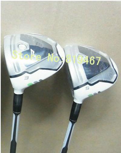 Left handed golf clubs Rocketballez fairway woods 3# 5# regular stiff flex 2pcs/lot free headcover(China (Mainland))